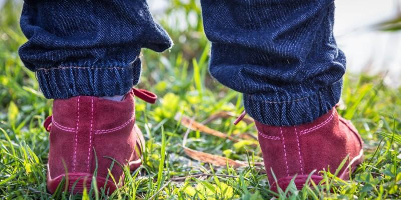 Schuhe um Laufen zu lernen