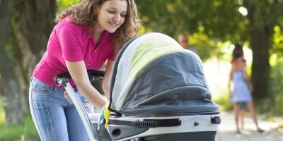 Sicherheit und Komfort im Kinderwagen