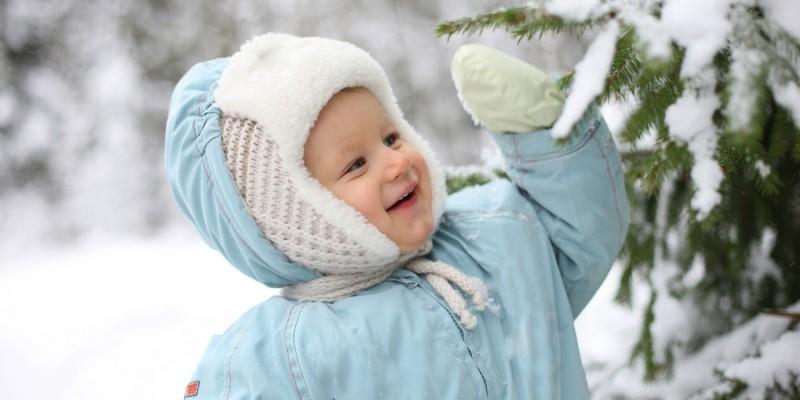 Schneeanzug für kalte Tage